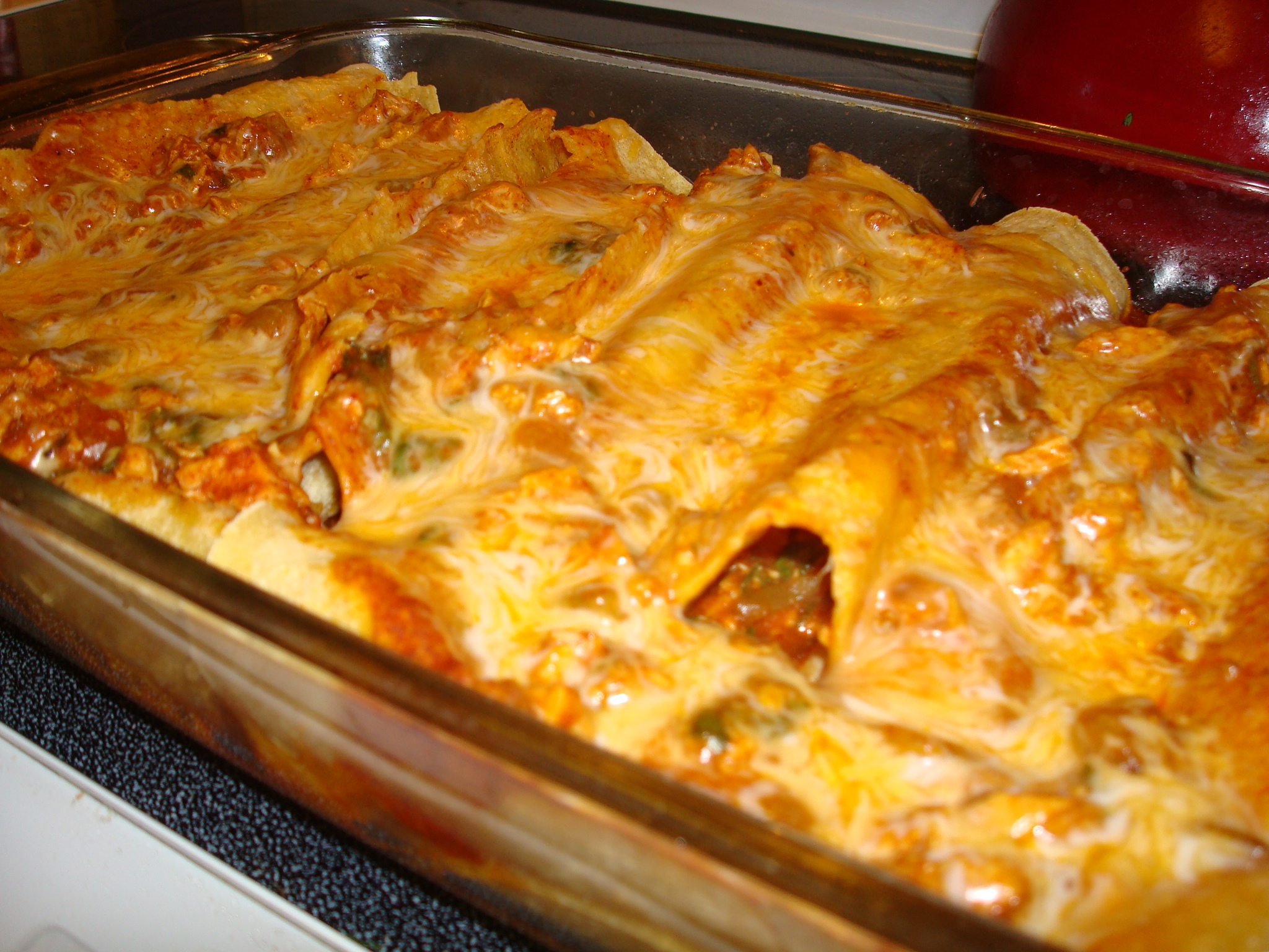 Home \ Chicken Enchilada Casserole